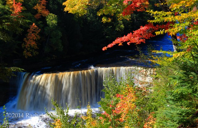 """Tahquamenon Falls Autumn"""
