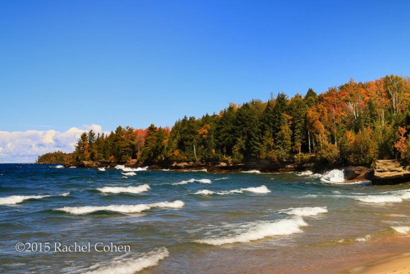 """Great Lakes Autumn Waves"""