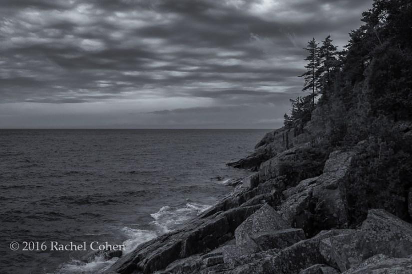 """Agawa Bay Rocky Shore"" Beautiful and scenic Agawa Bay in Lake Superior Provincial Park in Ontario, Canada!"