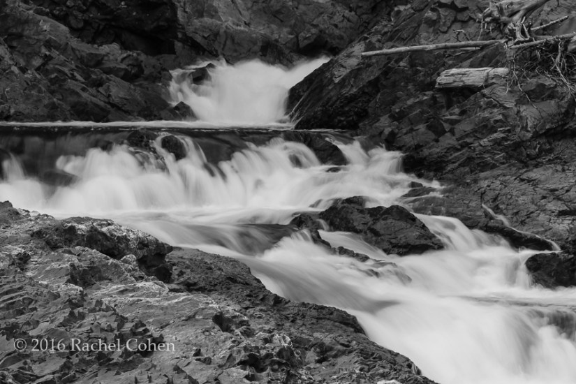 """Chippewa Falls"" Mono A Beautiful long exposure of a section of Chippewa Falls, processed in black and white!"