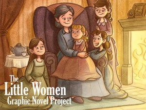 Click to check out the Little Women Graphic Novel Project