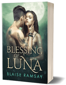 Blessing of Luna Book Mockup