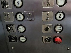 Messed up elevator buttons