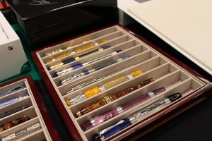 Various beautiful pens