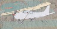 Tiger aeroplane