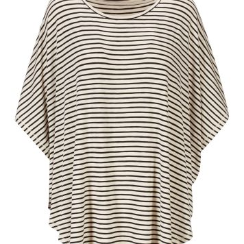 AND/OR Stripe Cape Top