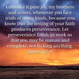 Trials and blessings at the farm: Consider it pure joy, whenever you face trials...
