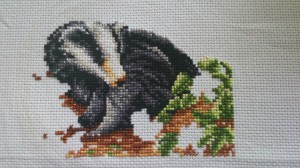 Badger Cross Stitch