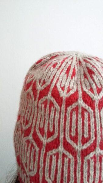 Funyin hat, back view