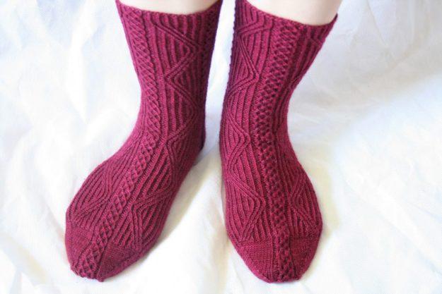 Total Internal Reflection Socks