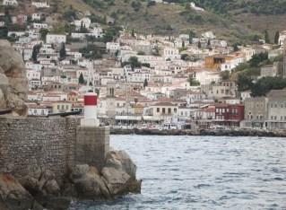 A one-day Greek island cruise
