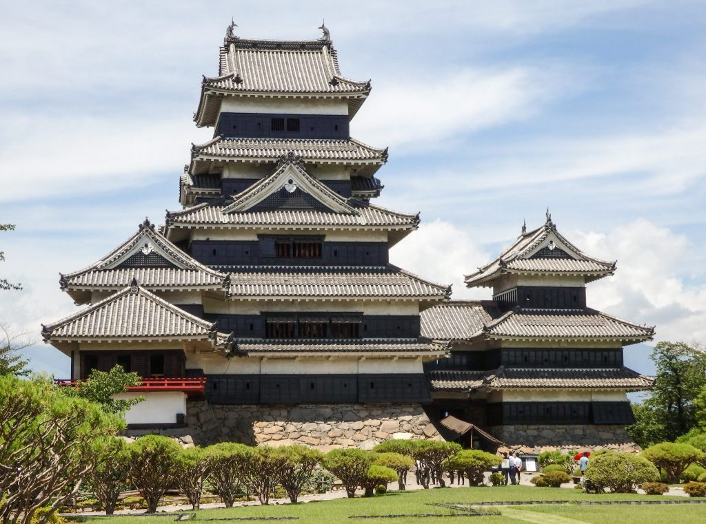 Matsumoto Castle, including both of the added wings