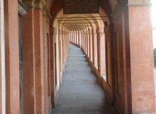 Walking the Portico di San Luca in Bologna