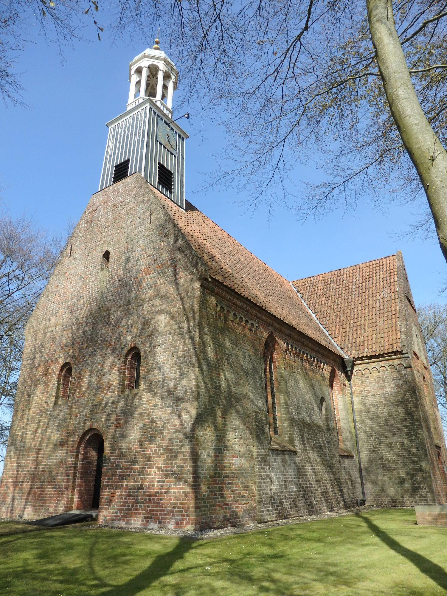 Leermens church in Groningen province