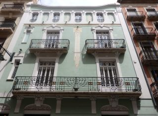 Modernism in Alcoi, Spain