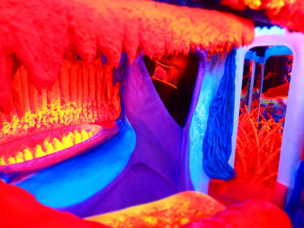 "Another angle on the ""environment"" at Electric Ladyland in Amsterdam"