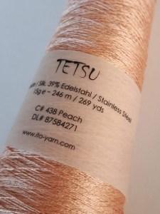 Tetsy Ito yarn - soie et acier