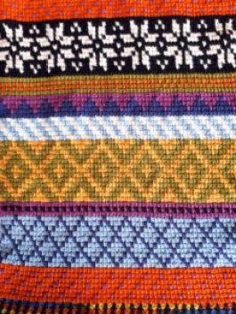 Tunisian Fair Isle scarf partie 1