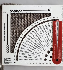 Measure your swatch.
