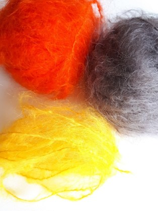 Kid mohair from la Droguerie