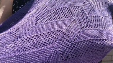 Event horizon shawl - Aklori designs