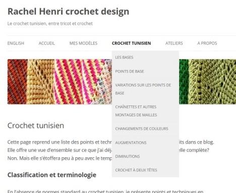 Crochet tunisien, points et techniques