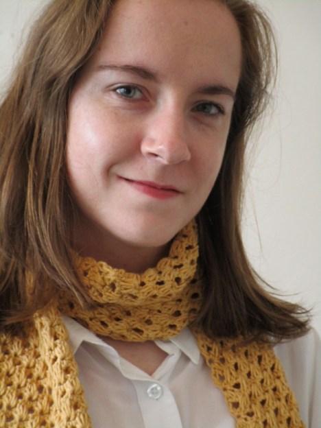 Hayley J Robinson, designer crochet tunisien