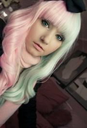 mint hair rachelinvogue