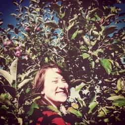 Me in an Apple Tree
