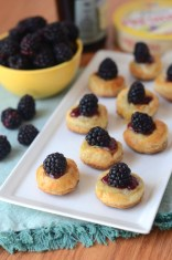 Brie & Blackberry Bites