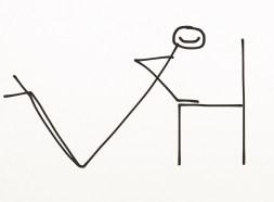 chair press ups home gym