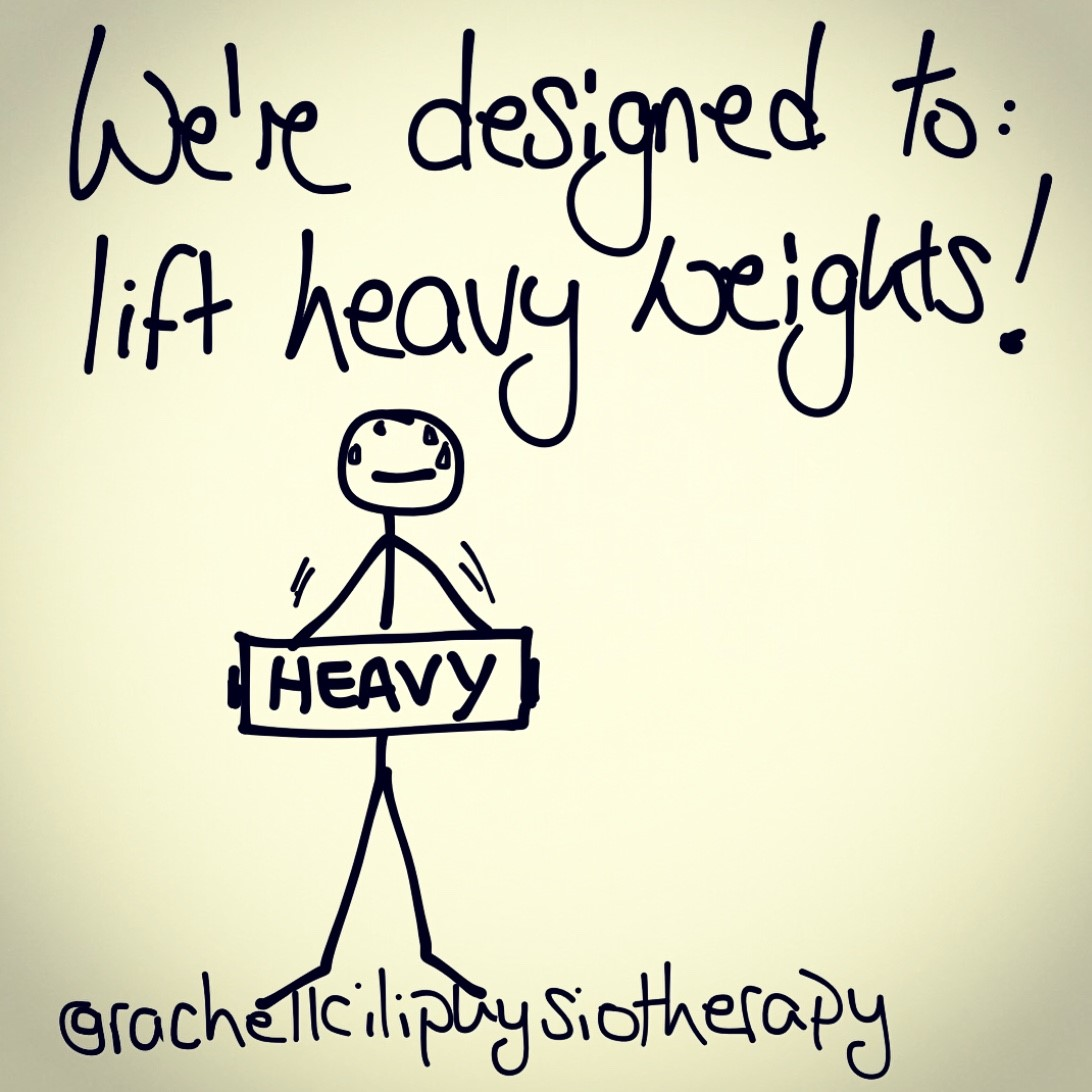 September Blog 2021: We're designed to lift heavy weights.