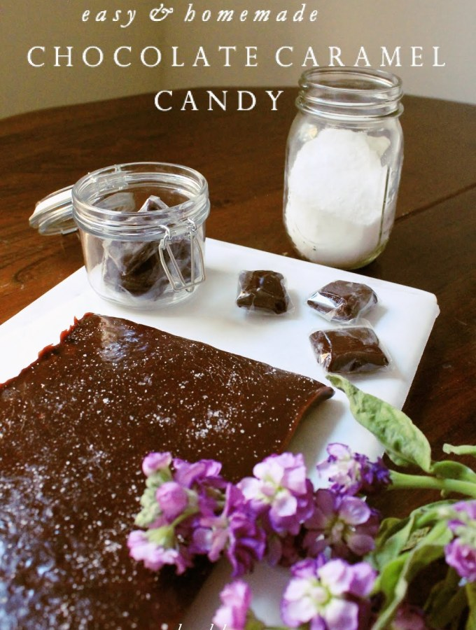 Chewy Chocolate Caramels