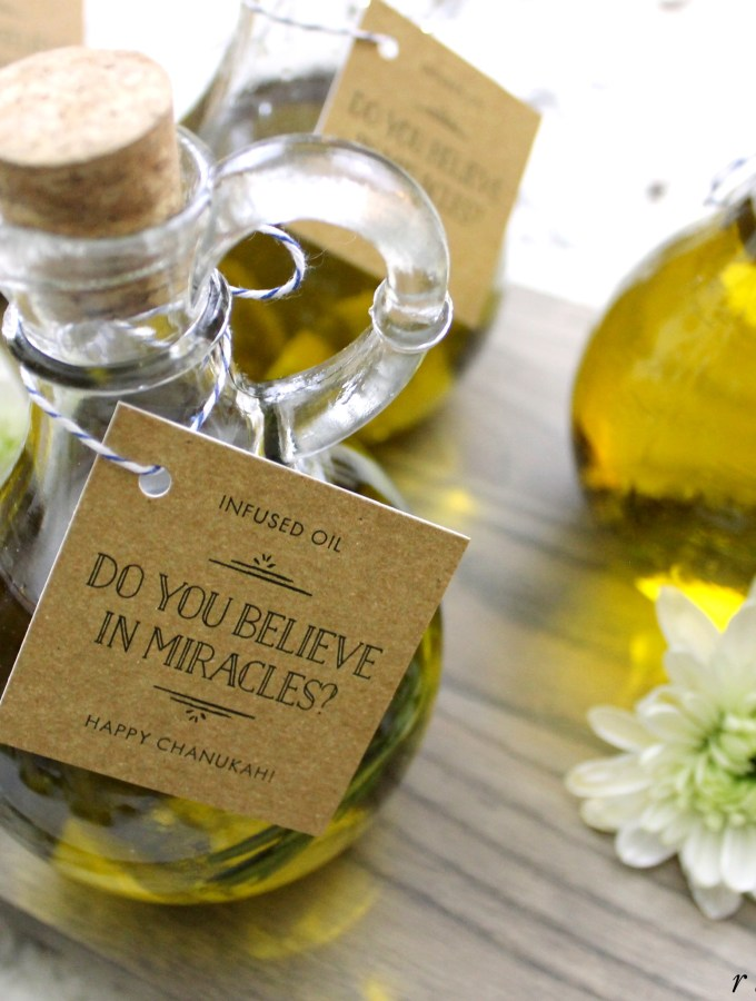 Mini Olive Oil Chanukah Gift