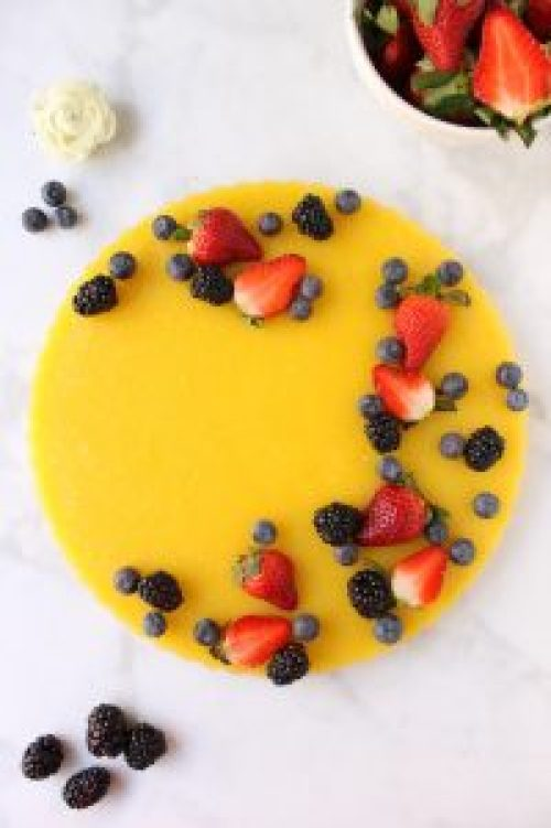 Lemon Tart with Berries