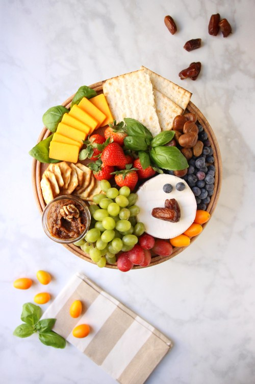 Sephardic Charoset Cheese Board
