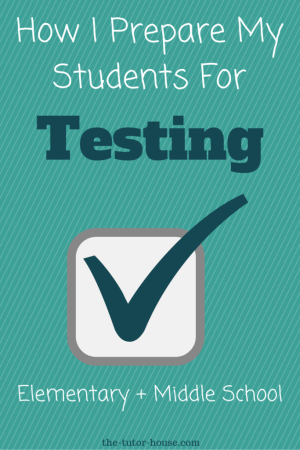 How I Prepare My Students For Testing