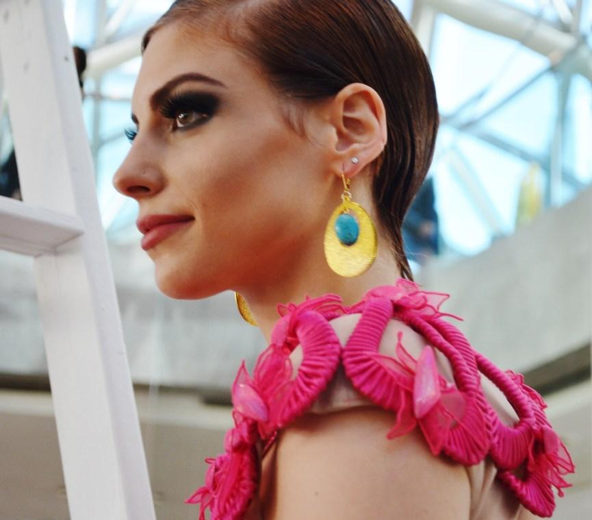 Earrings by Jon De Porter