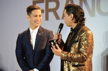 Francis Libiran tribute at the Fairmont Royal York Hotel in Toronto, with host/founder of CPFW Jeff Rustia