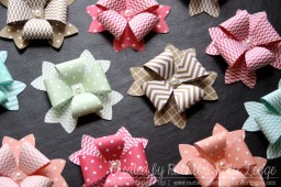 Stampin' Up! Bow Builder Punch In-Colour 2013-2015 Gift Bow Toppers | Created by Rachel and Katie Legge 2015 rachelleggestampinup.wordpress.com