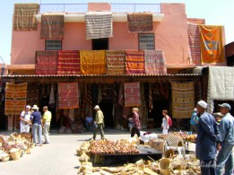 The souks of Marrakech, Morocco