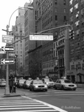 At first I was hesitant to put these famous yellow cabs in black & white!