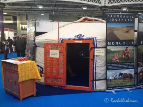 The Destinations Show 2015: Try out a Mongolian Ger!