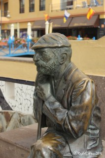The town's fishing heritage is still commemorated