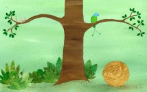 Pipisin under a tree