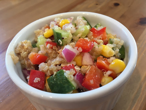 Too Long and Not Long Enough, and Confetti Quinoa Salad
