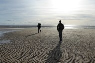 Crosby beach Manasseh brothers