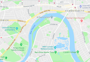 Walking around London – what would it be like if I was escaping a flood?