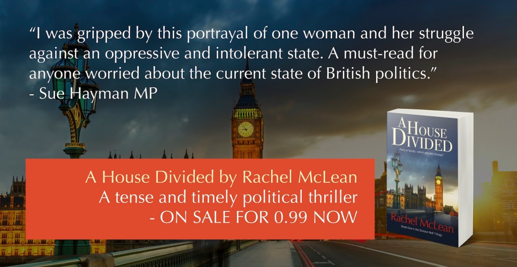 A House Divided - a gripping and timely political thriller - on sale for 0.99 now.