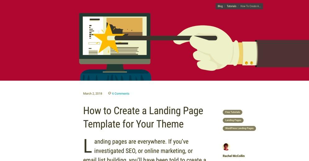 WPMU DEV tutorial on adding a landing page to your WordPress theme